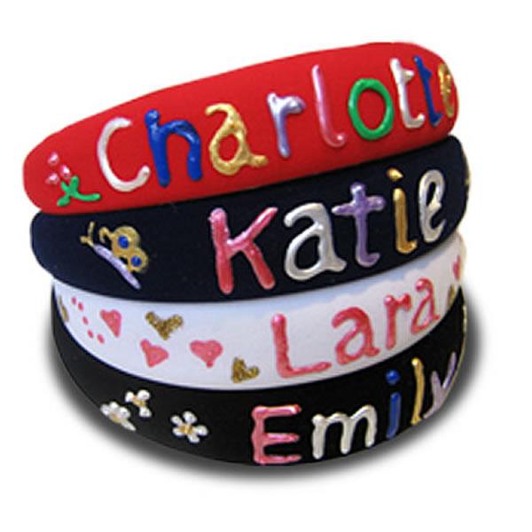 Personalised Children's Hairbands