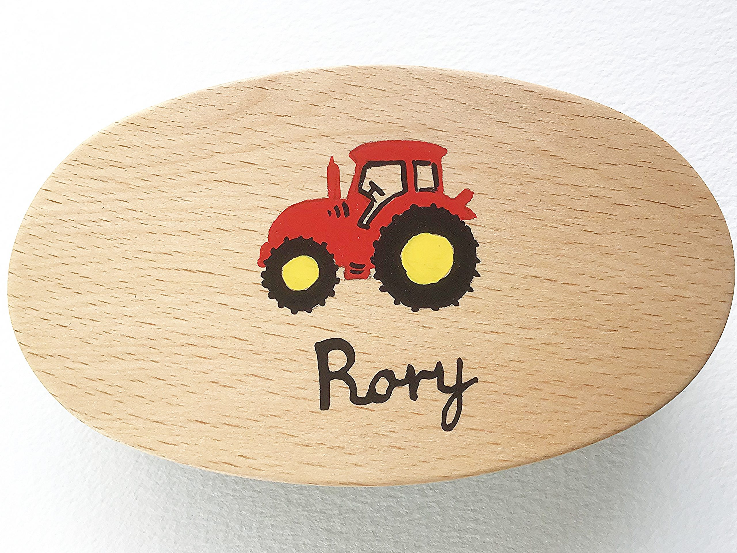 Military Brush Tractor Red